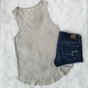 💕 Madewell Anthem Scoop Neck Tank Top